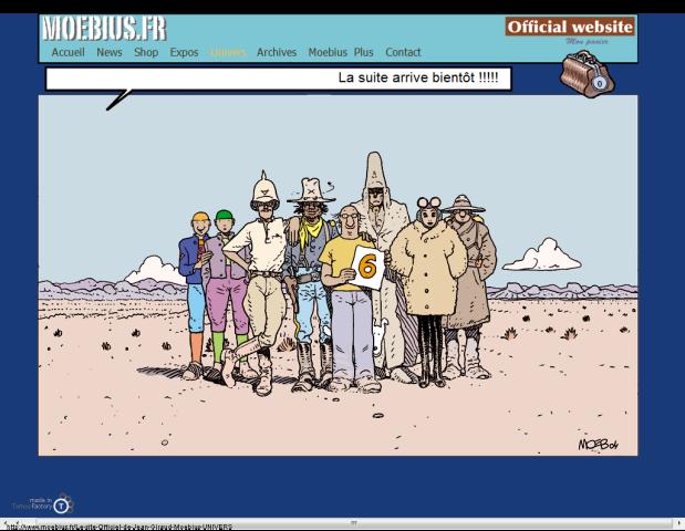 Le site Officiel de Jean Giraud Moebius UNIVERS-131627