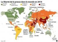 Liberté de la Presse |cartographie